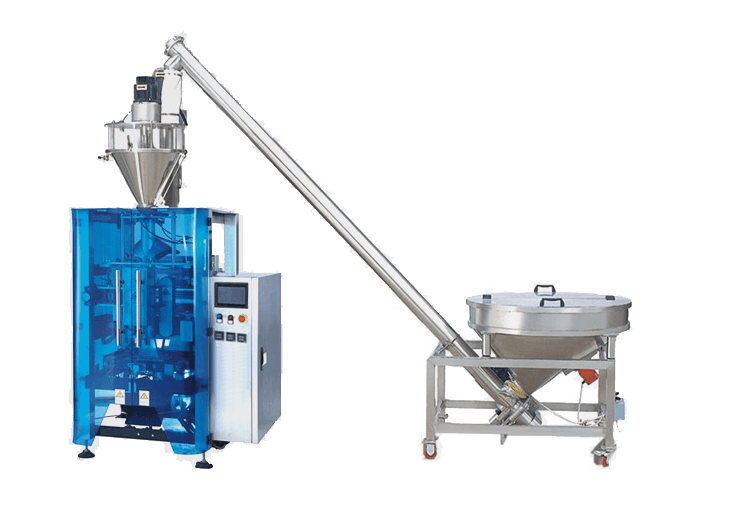 Vertical Form Fill Seal Machine With Auger Filler For Powder