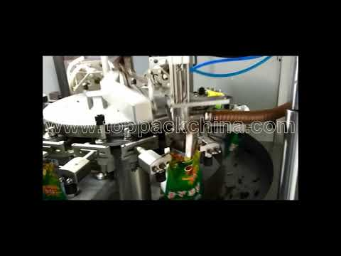 Rotary Chili Sauce Pouch Filling Machine