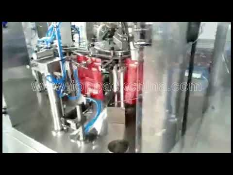 Rotary pork jerky bag Packing Machine
