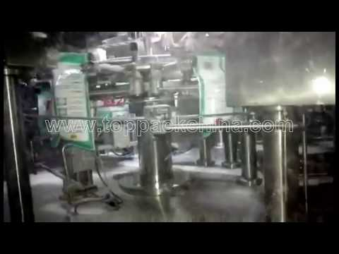 Rotary Washing Powder Bag Packaging Machine