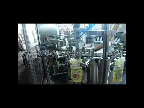 Rotary fruit juice Pouch Filling And Sealing Machine