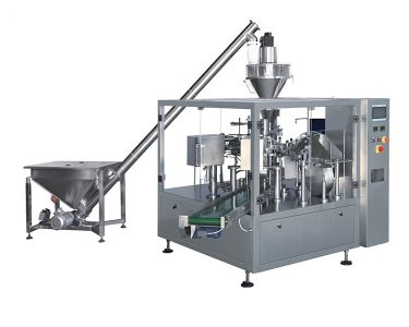 Rotary Powder Pouch Packing Machine