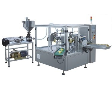 Rotary Liquid Pouch Filling And Sealing Machine