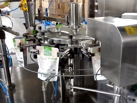 Rotary Nut Doypack Pouch Packing Machine