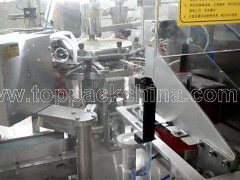 Rotary Powder Pouch Packing Machine With Augur Filler