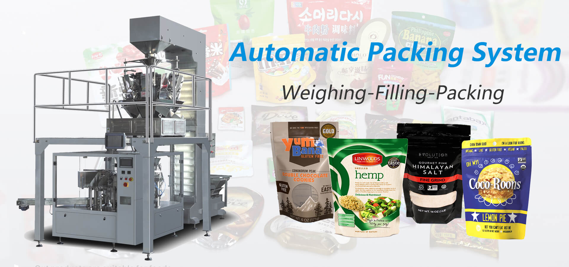 Rotary Packing Machine | Doypack Packing Machine | Premade Pouch Filling And Sealing Machine - Manufacturers in China