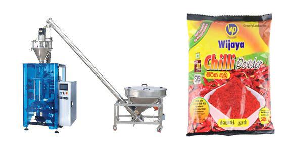 Chilli Powder Vertical Form Fill Seal Machine