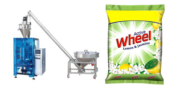 Detergent Powder Vertical Form Fill Seal Machine